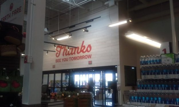 grocery signage