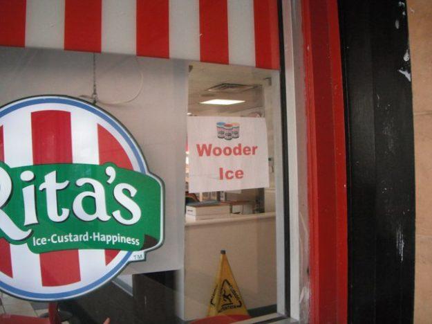 Rita's wooder ice