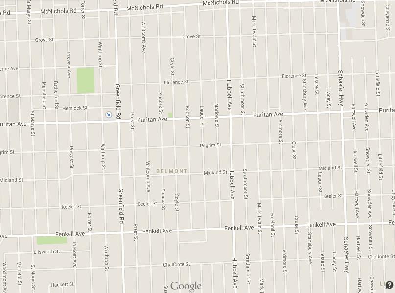 Detroit block redundancy map