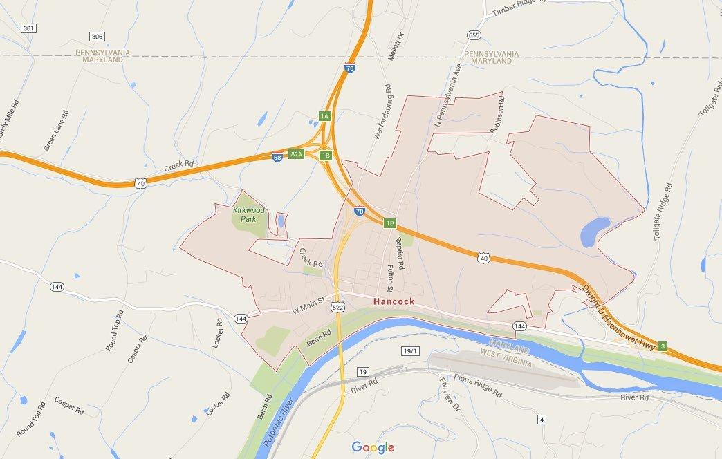 Hancock map