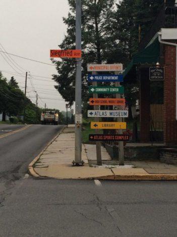 MUTCD orange road signs