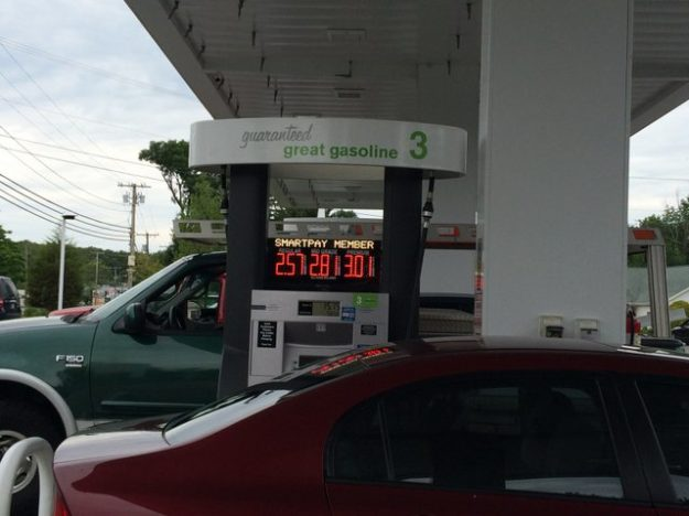 gas tax Rhode Island vs Connecticut