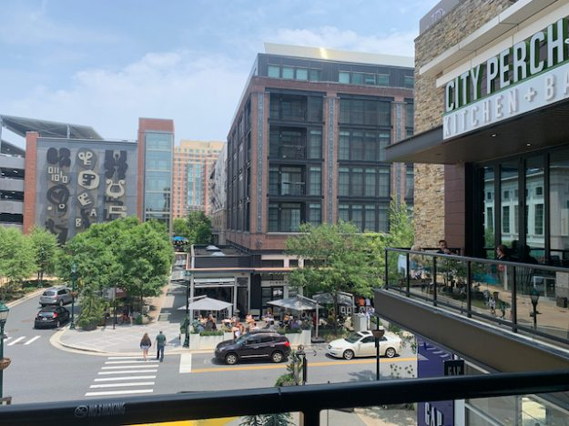 Mixed-use town center: Pike and Rose in North Bethesda, MD