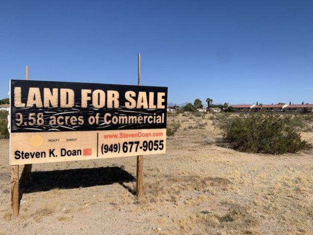 Ridgecrest development opportunities dying out?