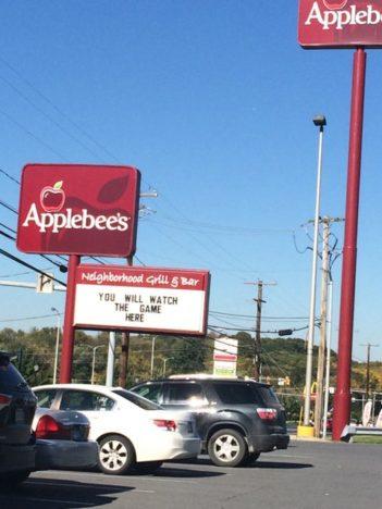 Applebee's allure