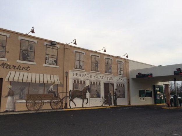 Peapack-Gladstone Bank mural