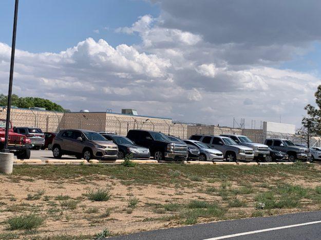 Prison industry near Grants, NM