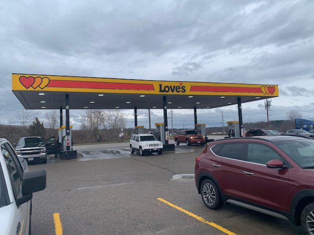 Love's Travel Stop in Zanesville OH