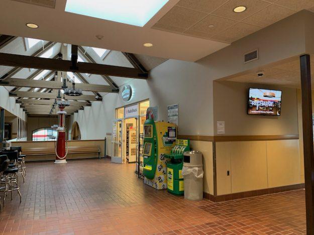 Gateway Travel Plaza upper floor