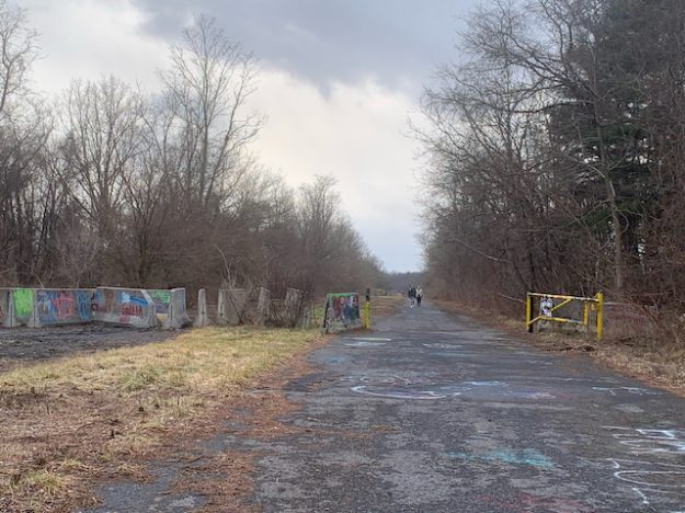 Aspiring Graffiti Highway in Western PA (abandoned Turnpike)