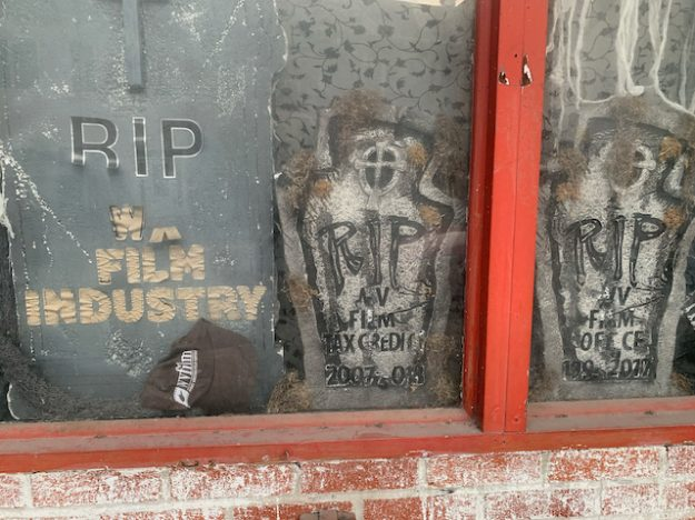 Martinsburg grave to WV's film industry