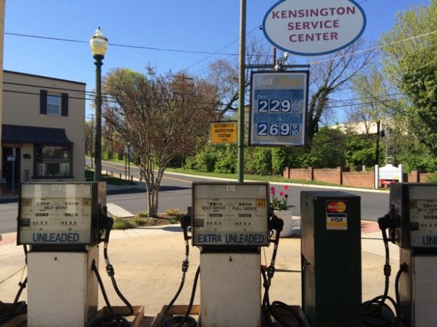 vintage Kensington service station