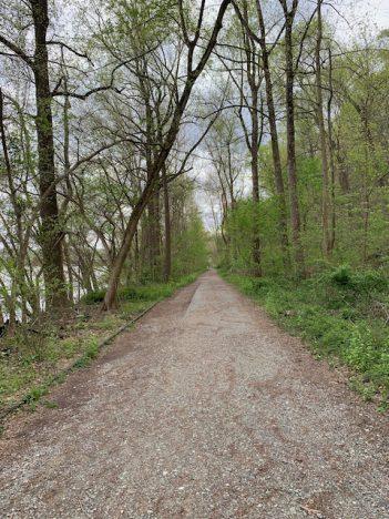 Path near Conowingo Dam