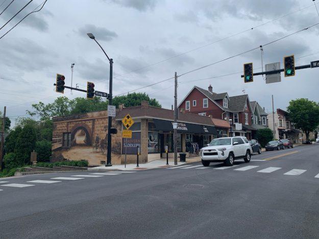 Malvern main street