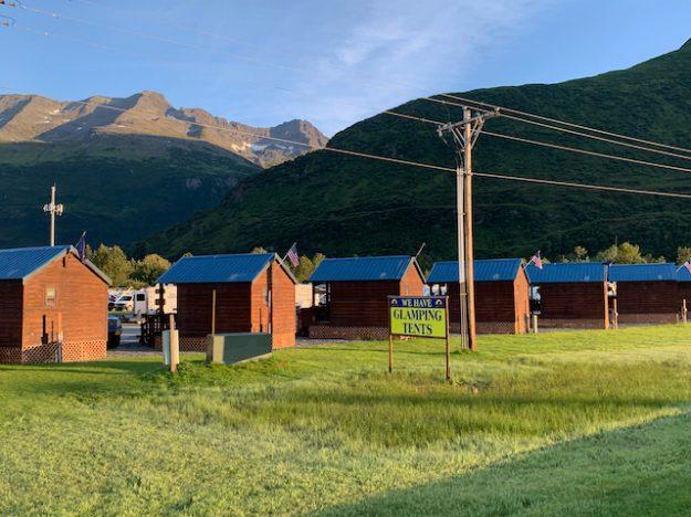 glamping opportunities in Valdez, Alaska