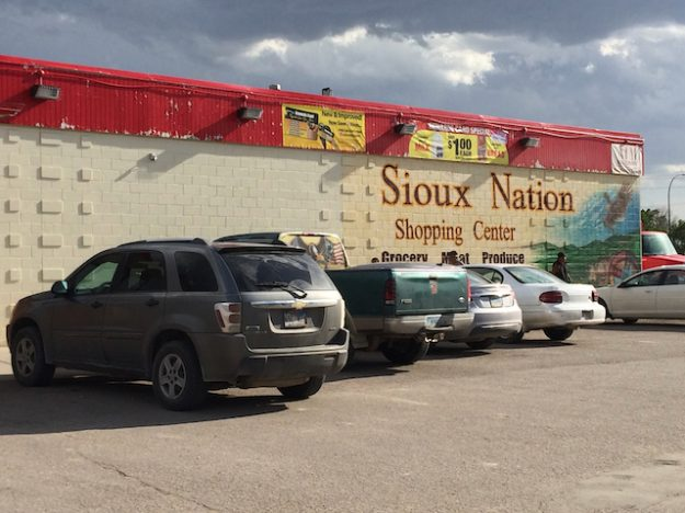 Pine Ridge Indian Reservation grocery store