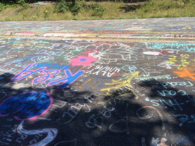 Graffiti from Graffiti Highway in Centralia, PA