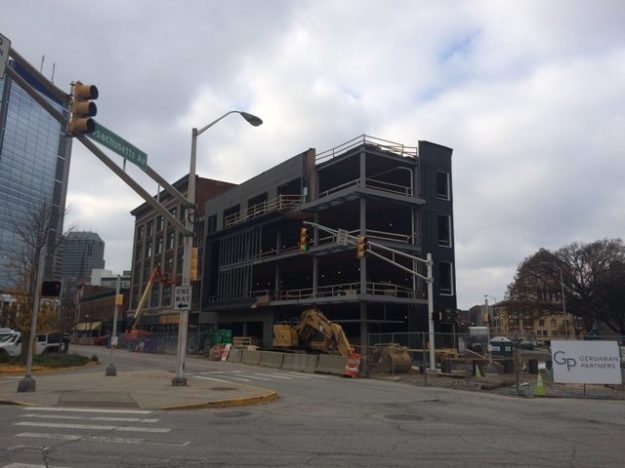 Marietta Building under construction