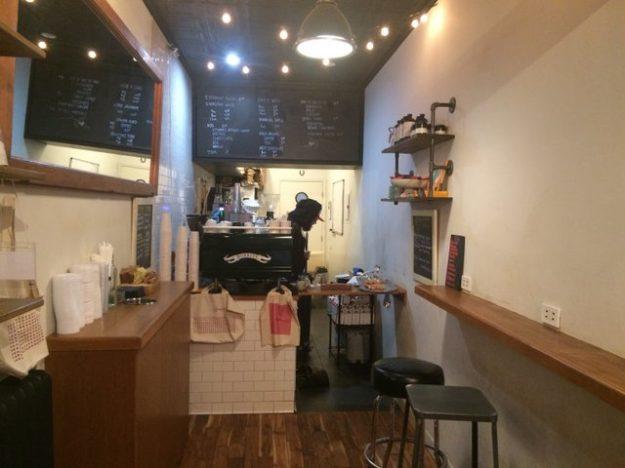 Upper West Side micro retail: Box Kite Coffee