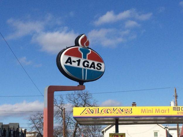 Amoco logo Allentown