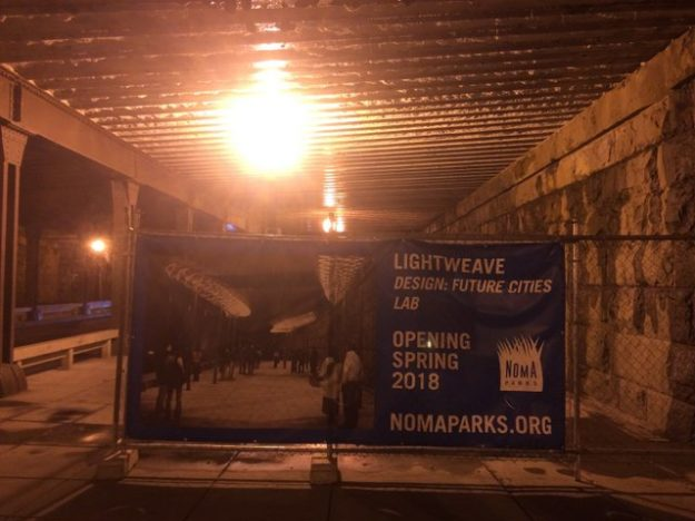 Swarm Street for Washington: Lightweave
