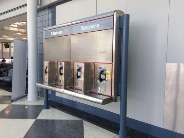 pay phones at O'Hare