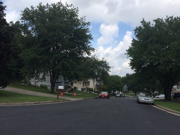 Wide street in Dumfries VA