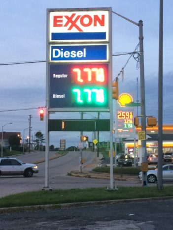 Gas station dysfunction: prices rising even faster than in Venezuela
