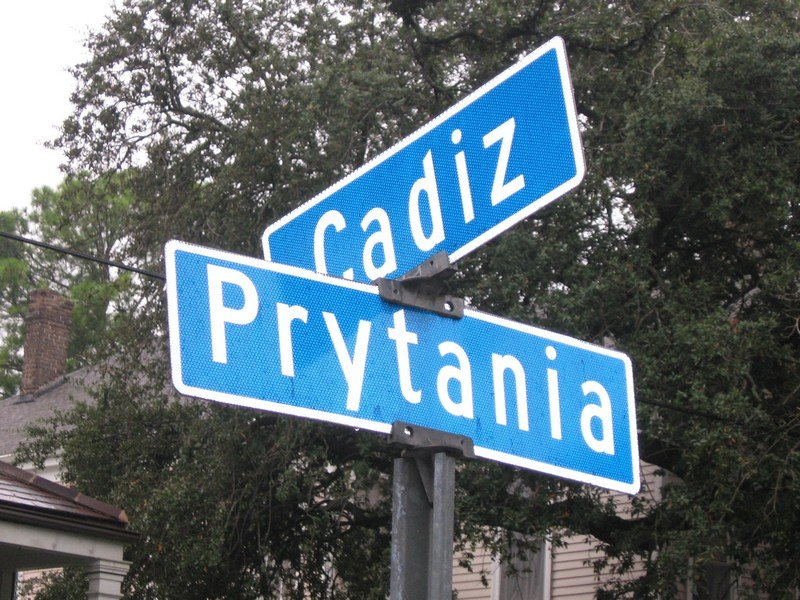Street Signs and Urban Adventure Race 007