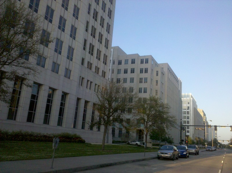 Louisiana government center street walls