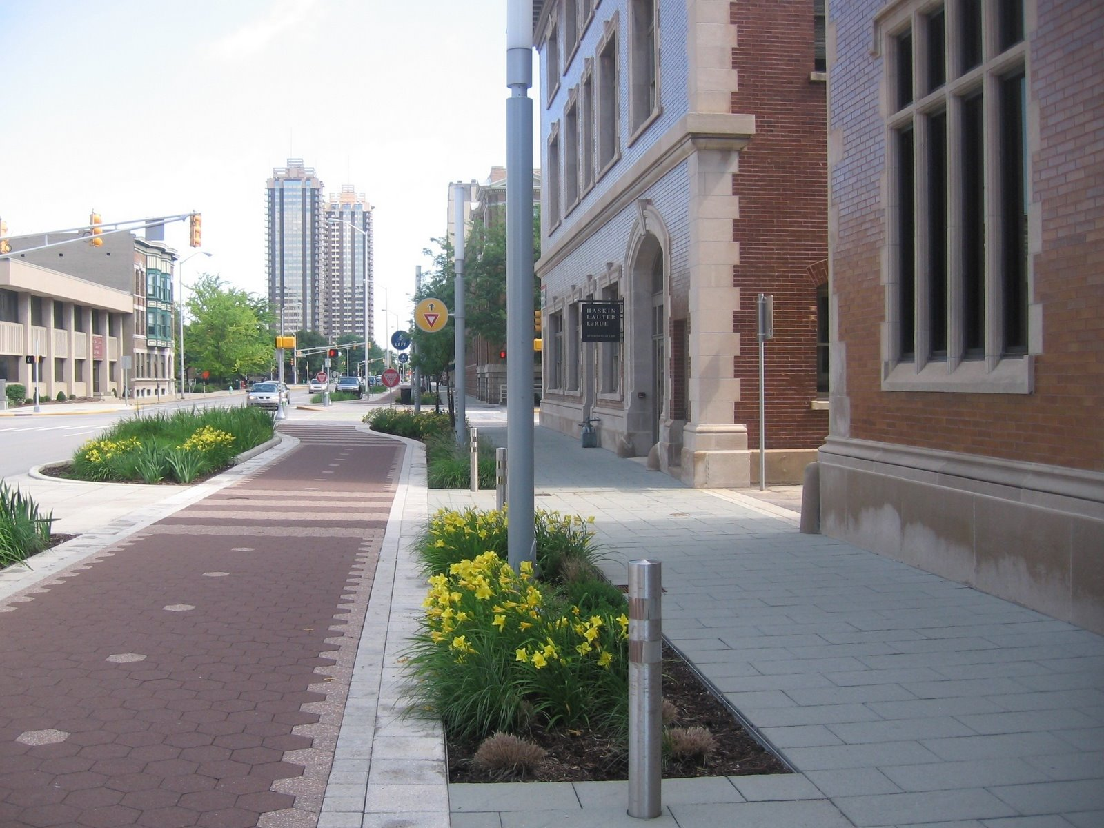 Complete Streets in downtown Indianapolis