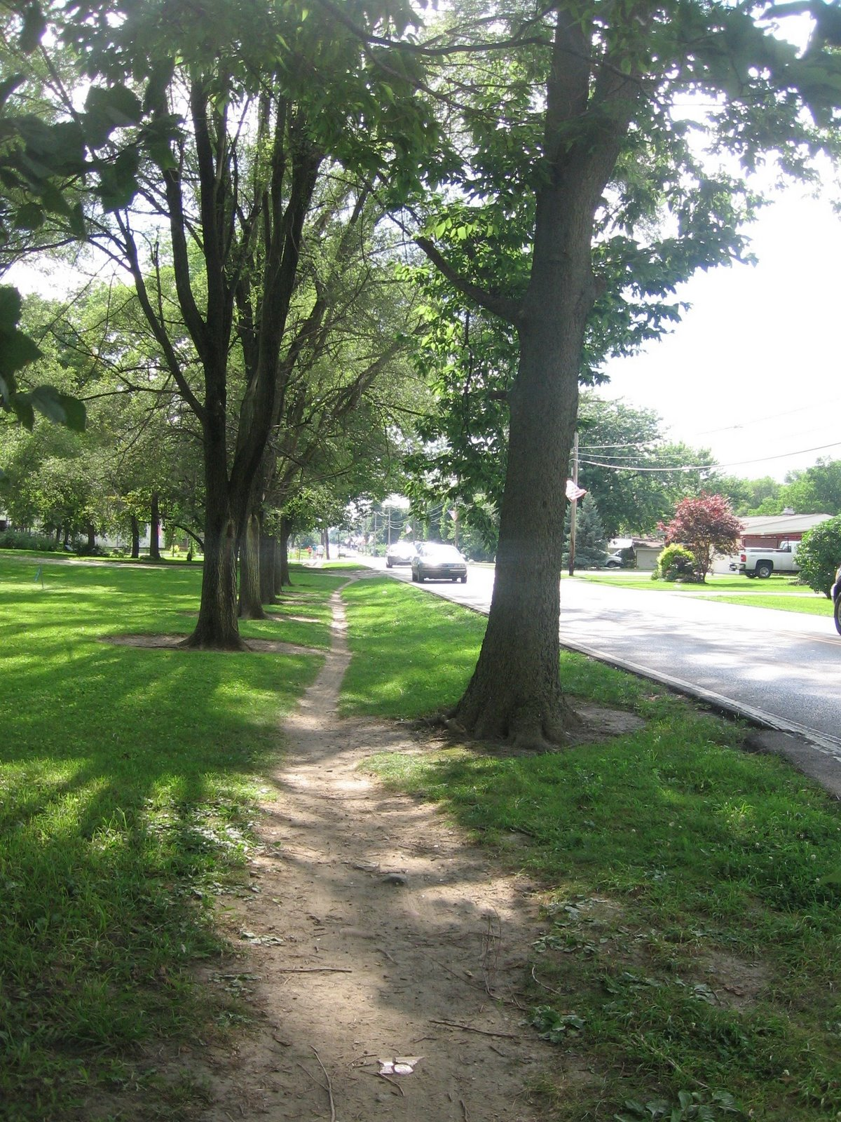 desire path shows need for complete streets