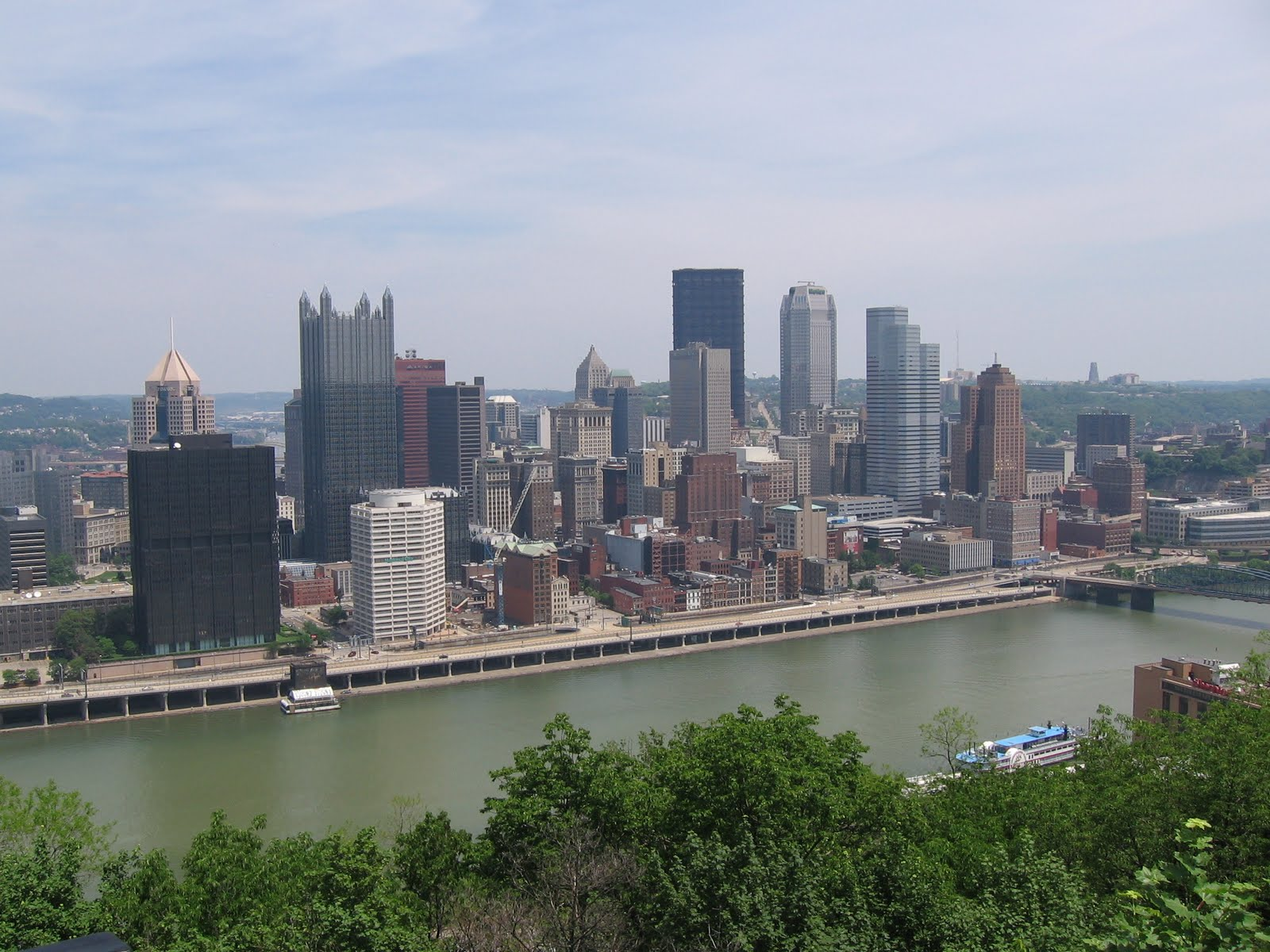 Pittsburgh view from Mount Washington