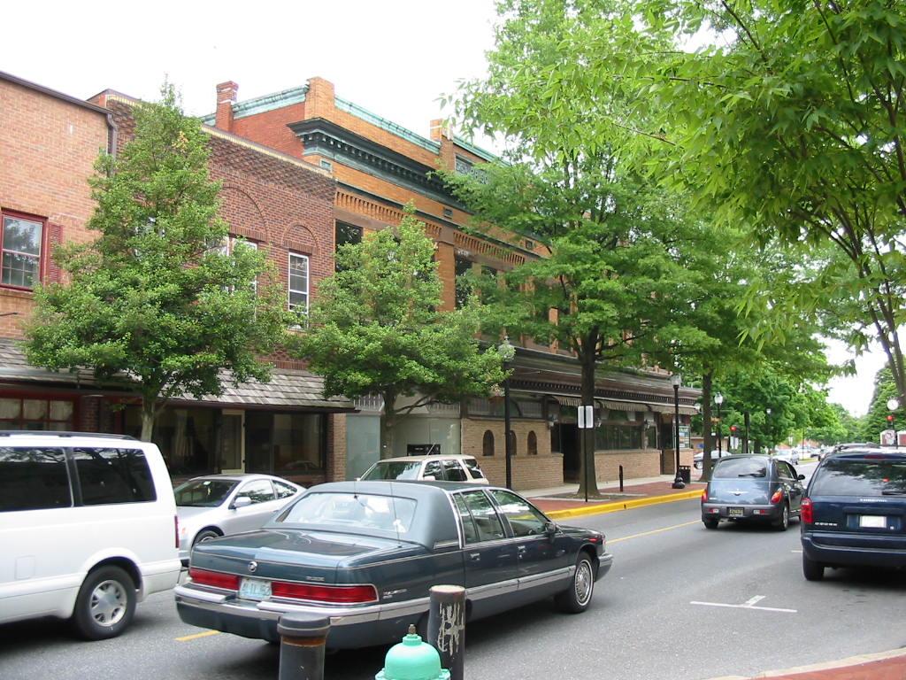 Loockerman Street corner
